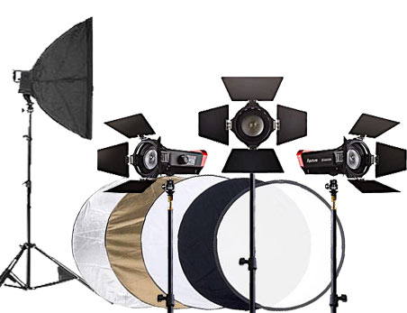 Continuous Studio Lighting and Reflector Hire Bristol