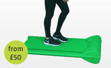 green screen chromakey treadmill