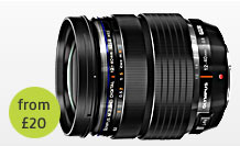 olympus 12 to 40mm f/2.8 pro Lens hire