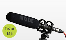 Rode Shotgun Mic hire