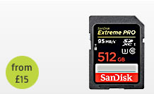 High Capacity Sandisk 512GB SDXC Memory card Hire Bristol hire