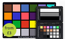x-rite color checker card and video passport hire