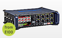 Zoom F8 8-track digital field recorder hire